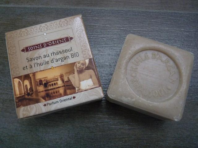 savon au Rhassoul et à l'huile d'Argan Bio