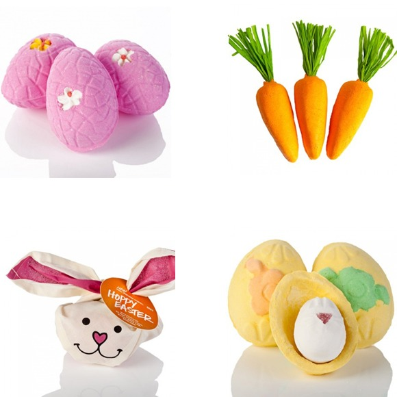 collection lush pour Pâques
