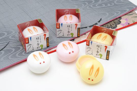 Des petits baumes à lèvres de The Kyoto Cosmetics sélection pâques