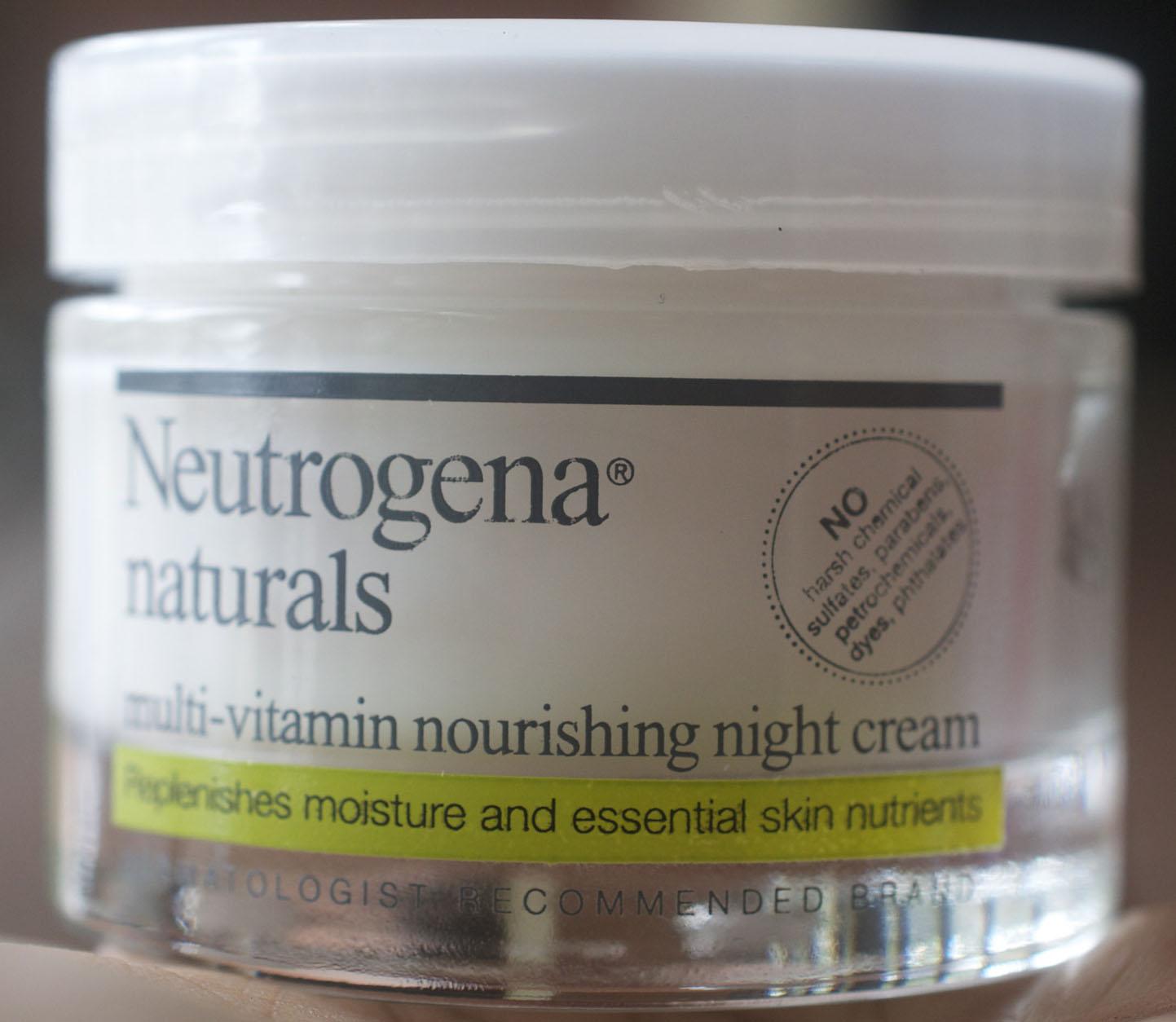 Crème nourrissante Neutrogena Naturals