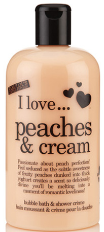 Bain moussant et crème de douche I Love Peaches and Cream