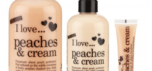 I Love… Peaches & Cream and my Mum !