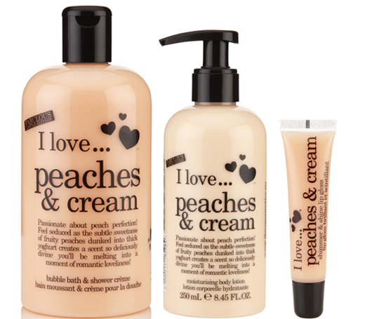 Produits I Love Peaches and Cream