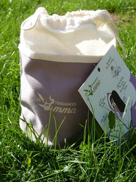Le démaquillage écolo avec le Kit Eco Belle de la marque Les Tendances d'Emma