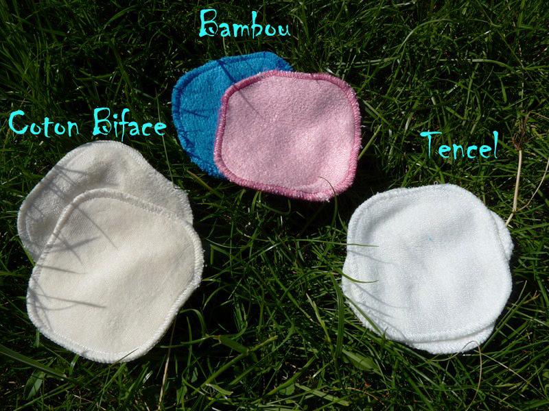 le Kit Eco Belle de la marque Les Tendances d'Emma carrés démaquillants