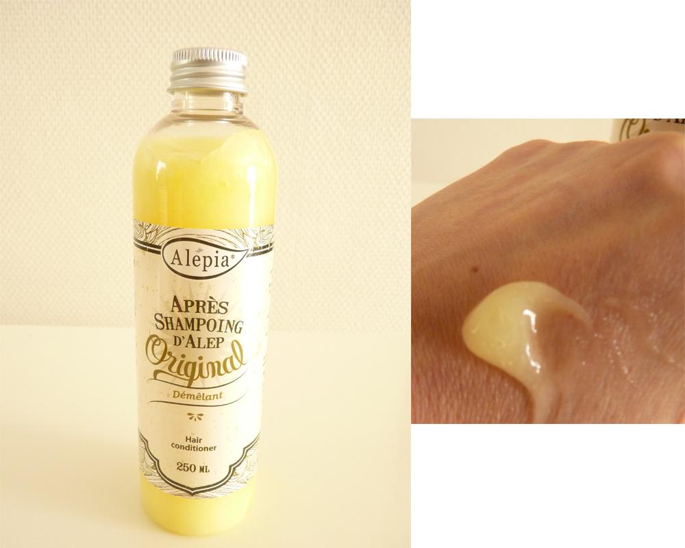 avis sur les shampoings Alepia