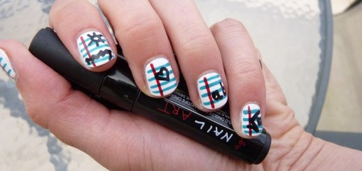 The Sunday Nail Battle // Back to school