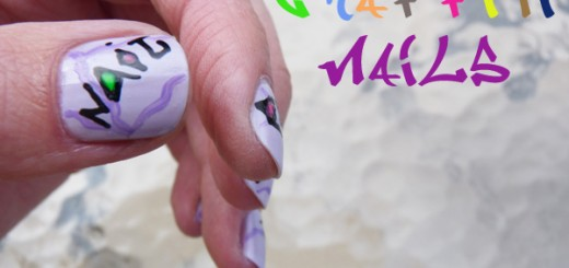 The Sunday Nail Battle // Graffiti Nails