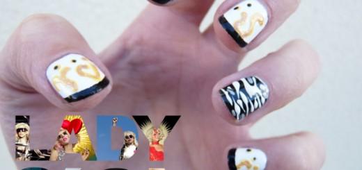 The Sunday Nail Battle // Lady Gaga Nail Art