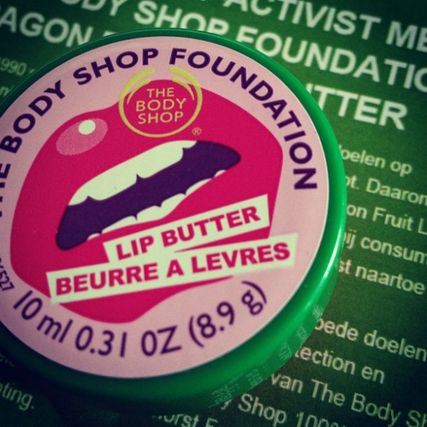 The Body Shop et son beurre à lèvres solidaire