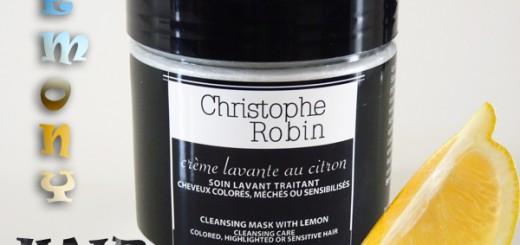 Du + et du – pour la crème lavante au citron de Christophe Robin
