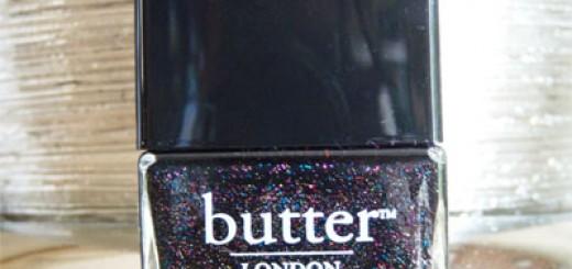 Mes petits vernis pour les fêtes  // The Black Knight (Butter London)