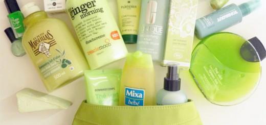 Défi du lundi : du vert dans ma salle de bain