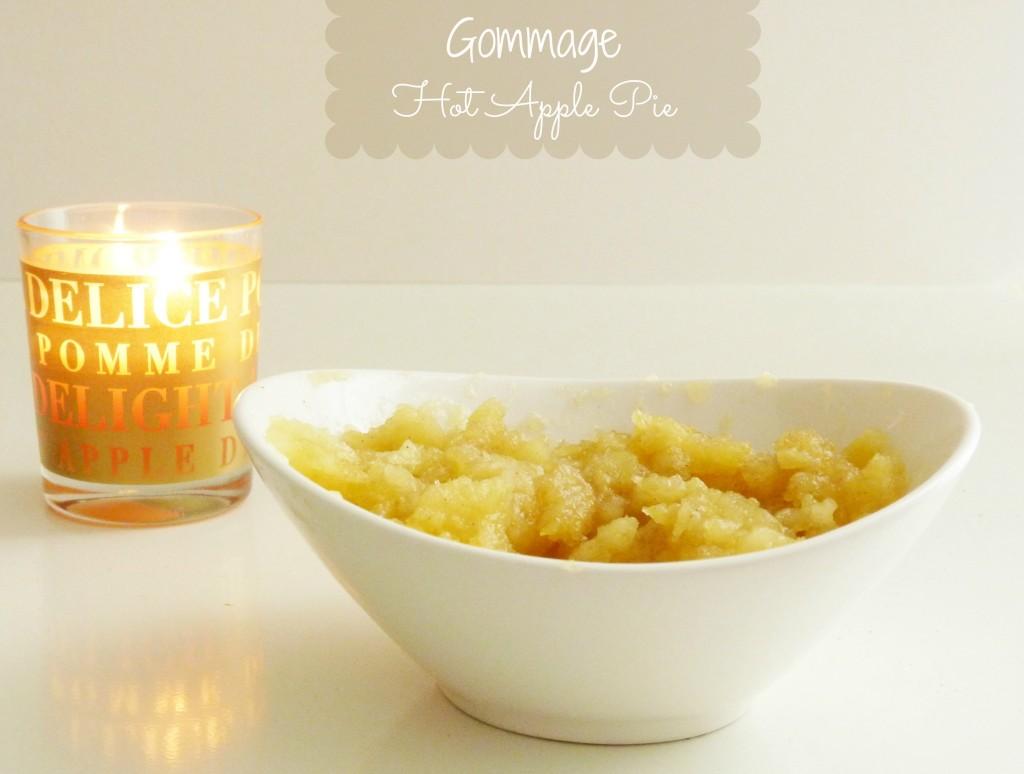 Le mercredi tout est permis : un Gommage Hot Apple Pie, ça vous dit ?