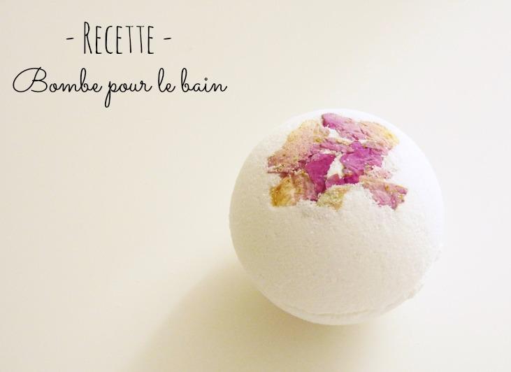 DIY : une Bombe de Bain aux pétales de rose