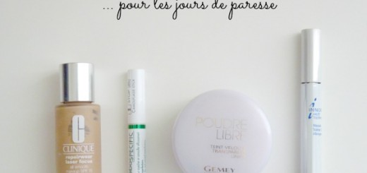 Le défi du lundi : routine make up