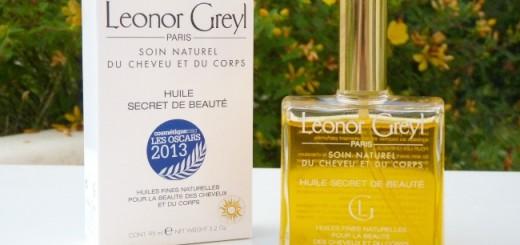 L'Huile Secret de Beauté de Leonor Greyl ou l'huile multitâches