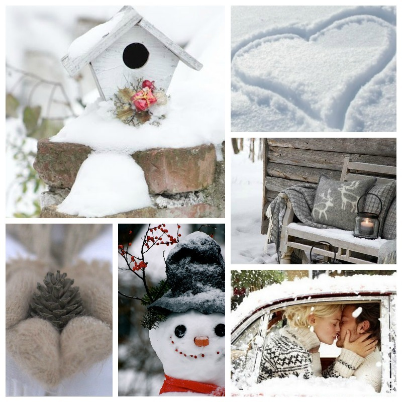 collage winter 1