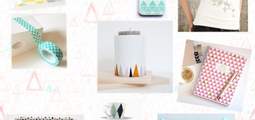 Triangle shapes pattern