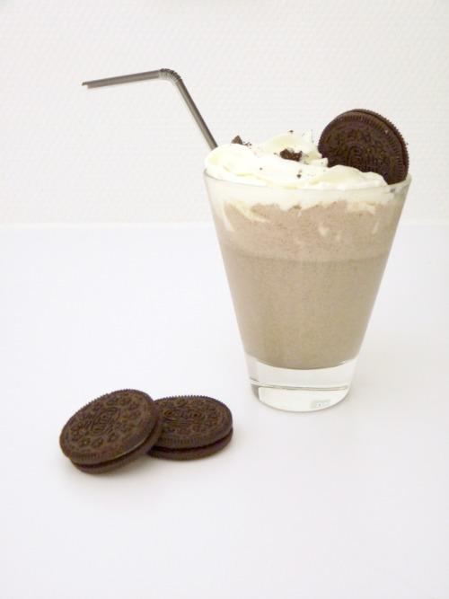 recette milkshake oreo..