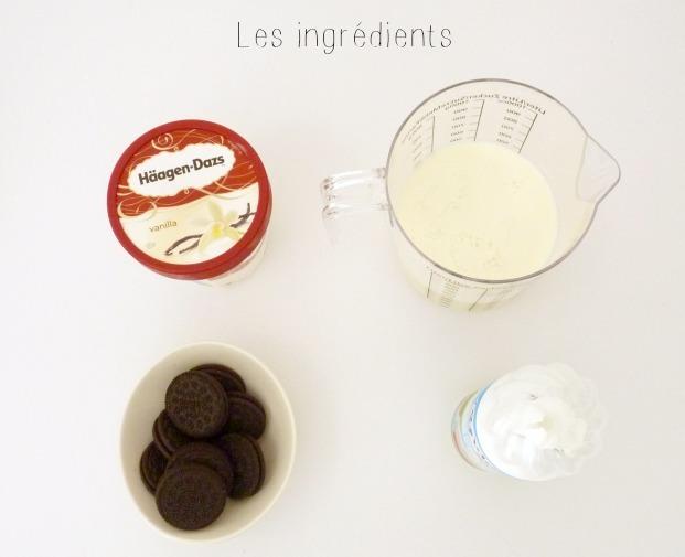 recette milkshake oreo