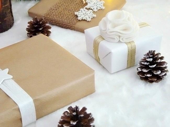 Petites id es pour r aliser vos paquets cadeaux black - Faire paquet cadeau original ...
