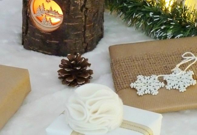petites id es pour r aliser vos paquets cadeaux black confetti. Black Bedroom Furniture Sets. Home Design Ideas