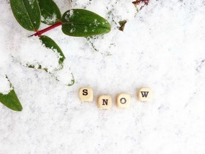 snow ..