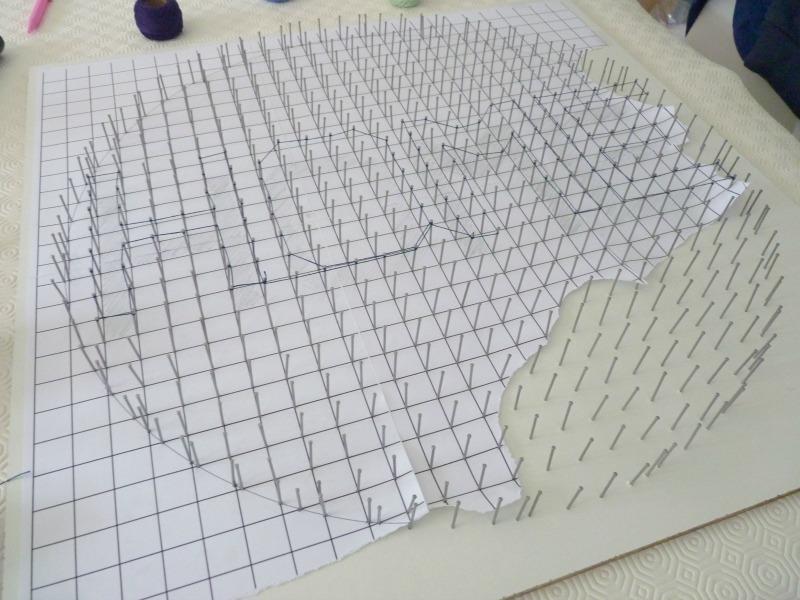 String art Tableau Déco Home 06