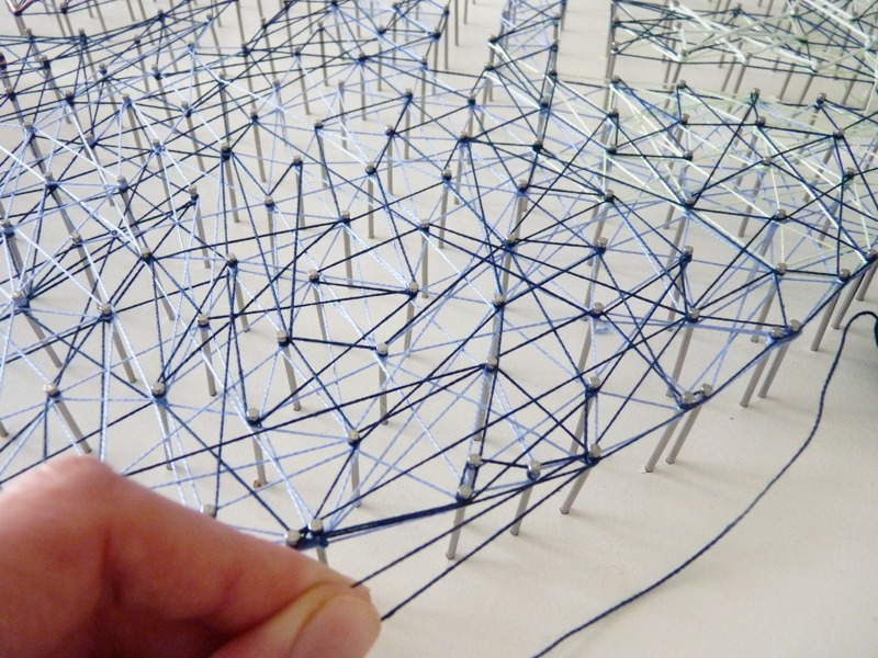 String art tableau déco home 11