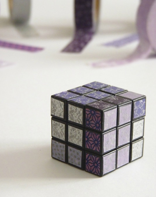 customiser un rubik's cube