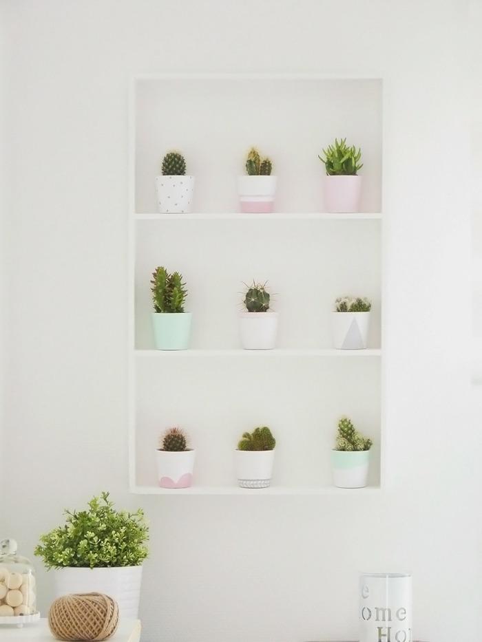 diy étagère à cactus Ikea 00