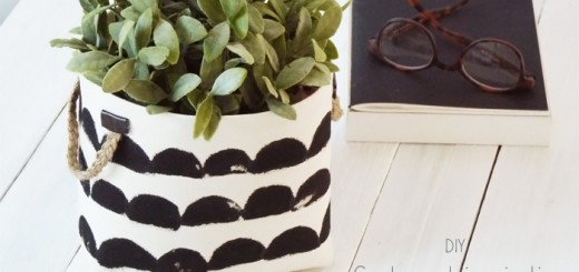 diy un pot crayons en feuilles de balsa black confetti. Black Bedroom Furniture Sets. Home Design Ideas