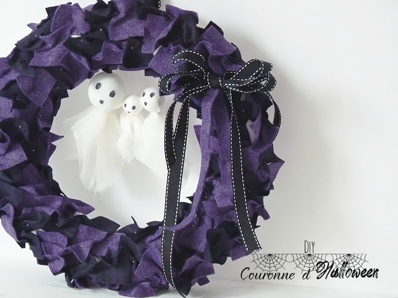 diy couronne halloween 1