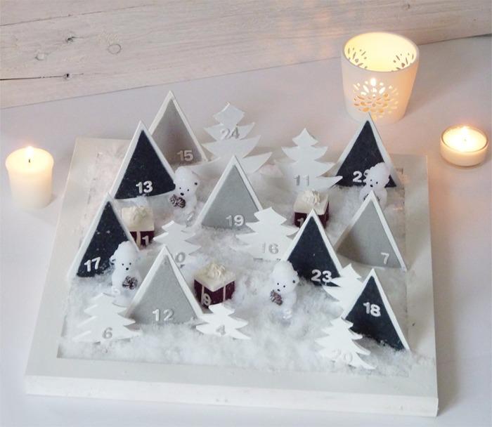 diy calendrier avent Noël 14