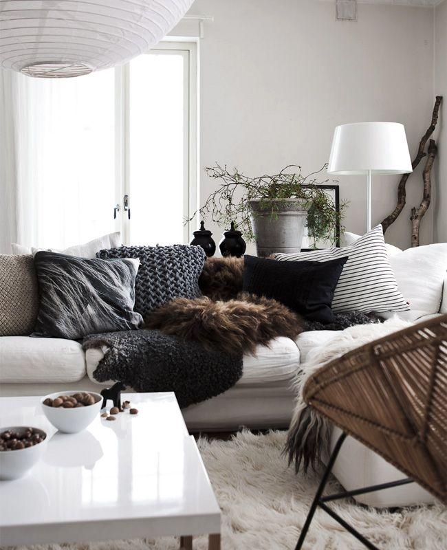 quelques id es pour un int rieur cosy black confetti. Black Bedroom Furniture Sets. Home Design Ideas