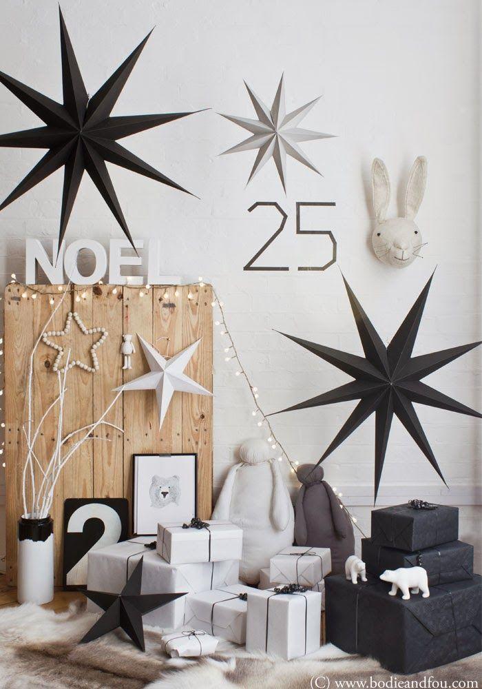 Inspiration Noel scandinave noir 10