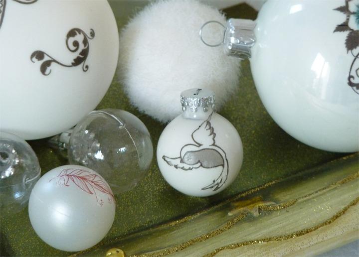 diy boules de Noël tatouées 07