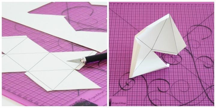 diy boules origami noël 02
