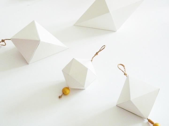 diy boules origami noël 04