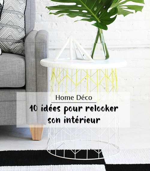 idees pour relooker son interieur diy table 1