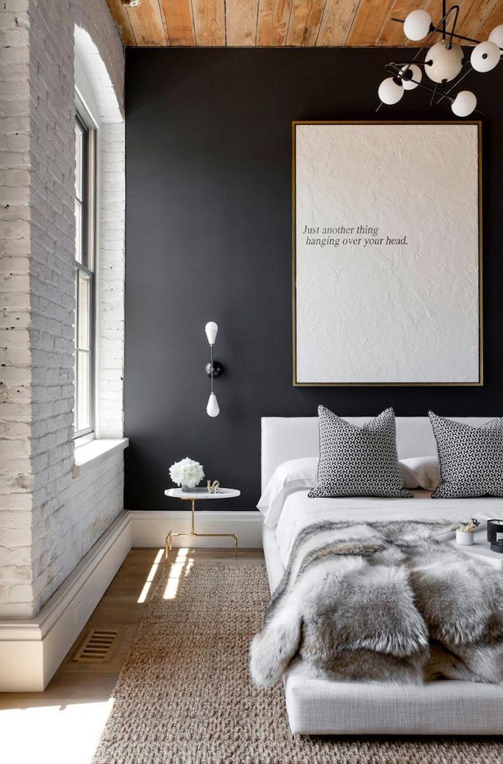 inspiration blanc et noir intérieur deco idees 06