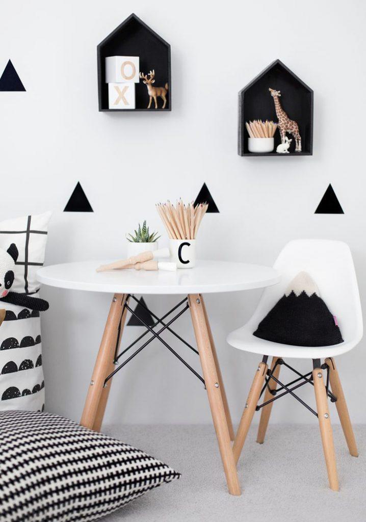 inspiration blanc et noir intérieur deco idees 11