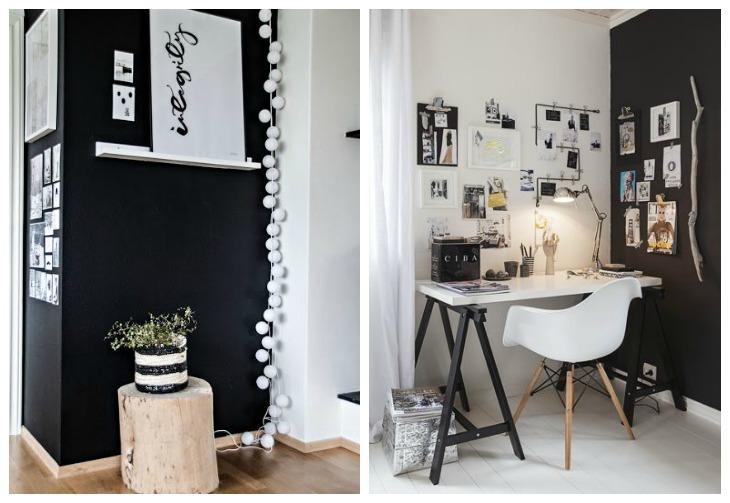 inspiration blanc et noir intérieur deco idees 16