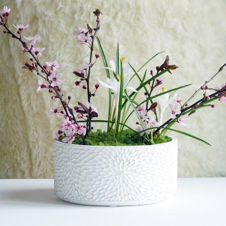 diy centre de table printemps jardin japonais éphémère 03 s