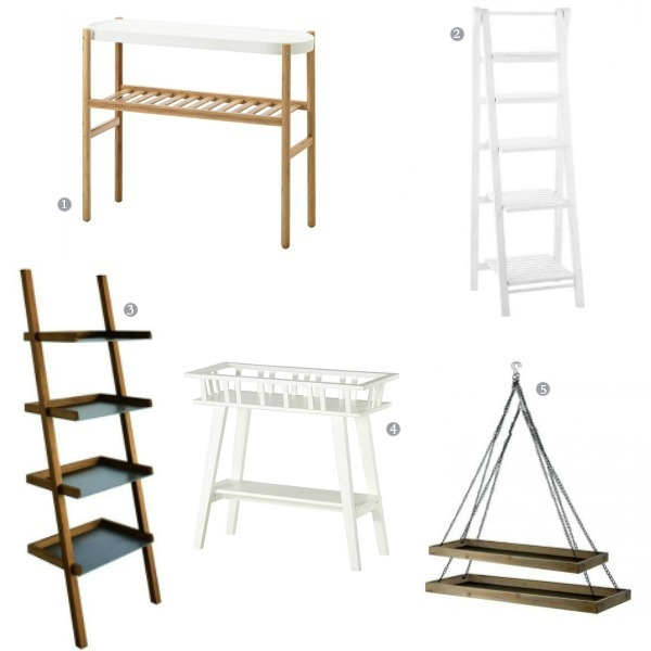 selection shopping etagere