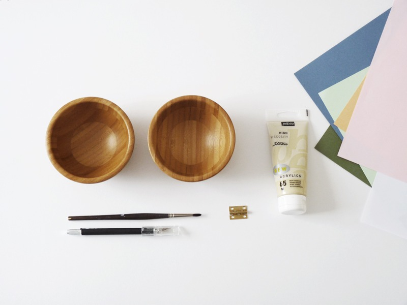 Ikea Hacks blanda matt diy boite idee cadeau fete des meres