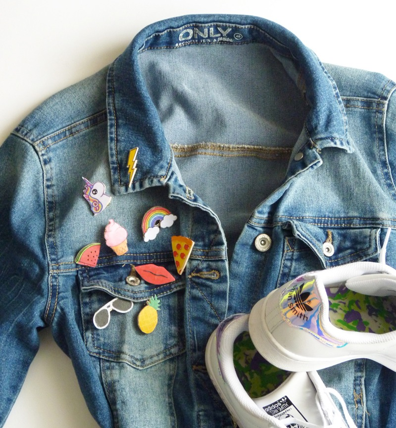 diy patch customiser veste en jean