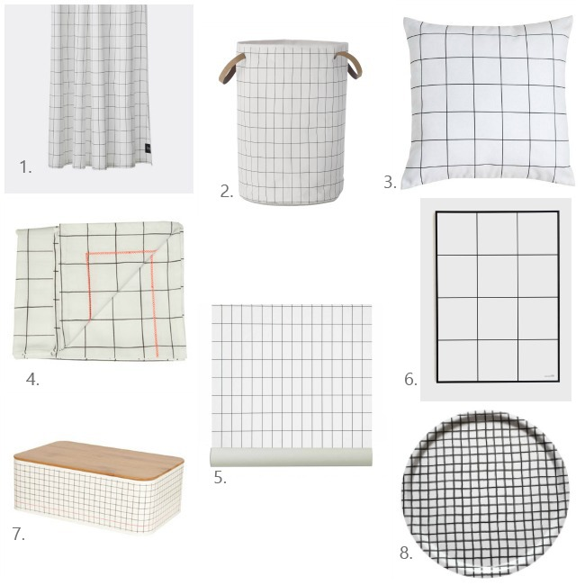selection shopping grid