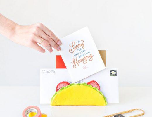 diy fun DIY-Taco-Letter-Holder
